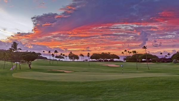 Kaanapali Royal Course Sunset