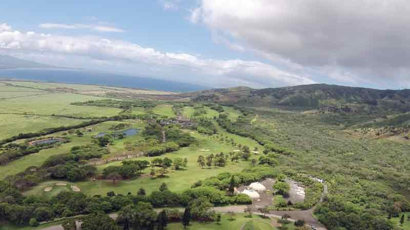Kahili Golf Course Aerial Photo