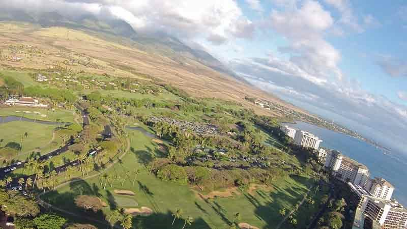 Finishing holes at the Kaanapali Kai Golf Course