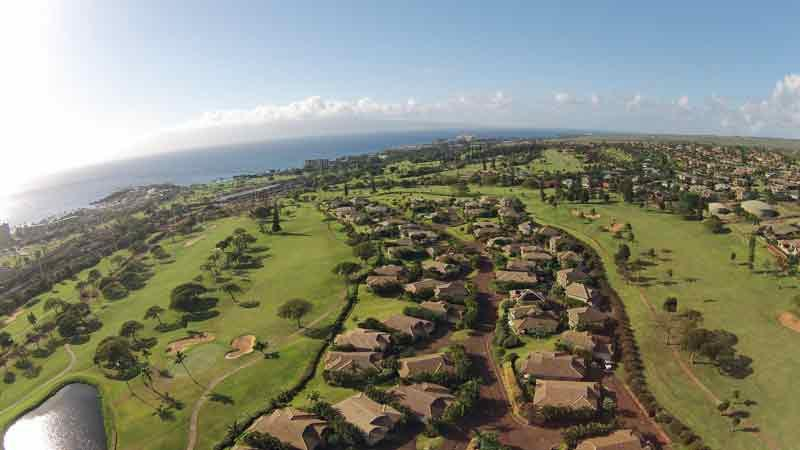 Aerial Photo of Kaanapali Kai Golf Course