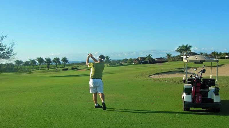 kiahuan 4th hole on Kauai