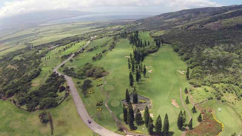 Views at King Kamehameha Golf Course front nine view