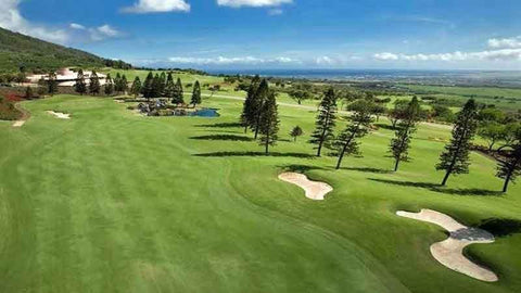 King Kamehamahe hole 9 great par 5, Hawaii Tee Times