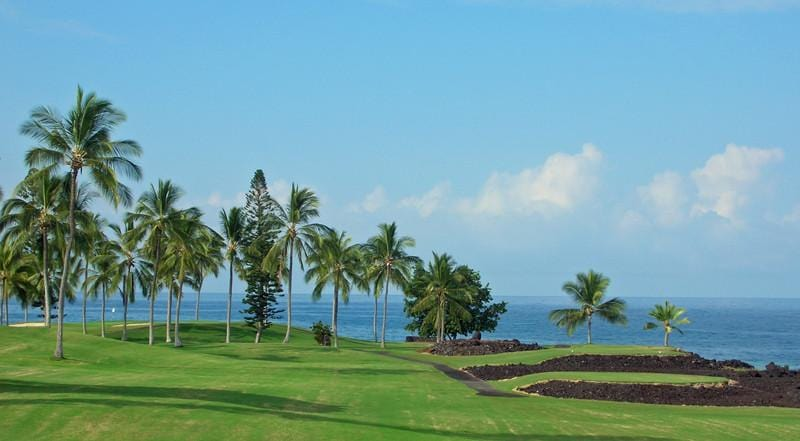 Kona Country Club Ocean course holes 12-14