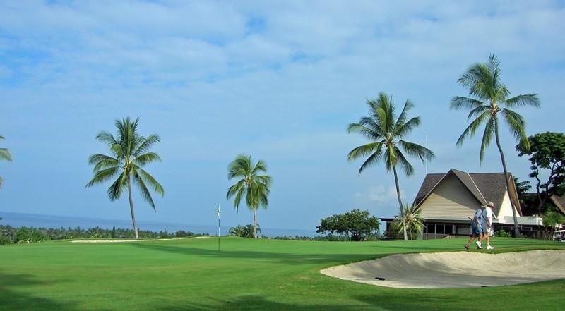 Kona Country Club Ocean club house