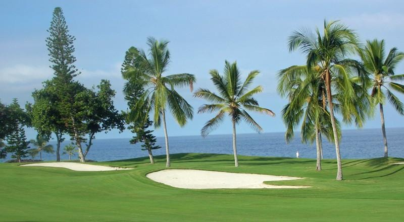 Kona Country Club Ocean green
