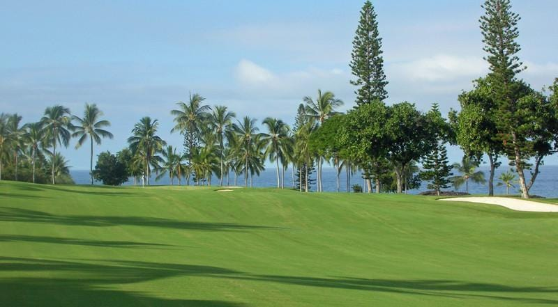 Kona Country Club Ocean Trees