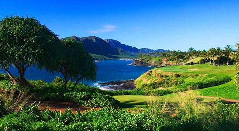 Hokuala Golf Club incredible views of ocean and mountain