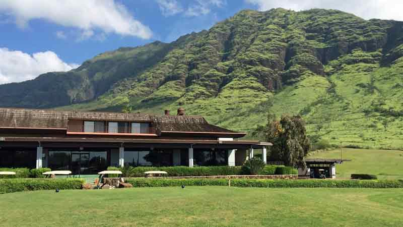 Makaha Valley Clubhouse  Hawaii Tee Times