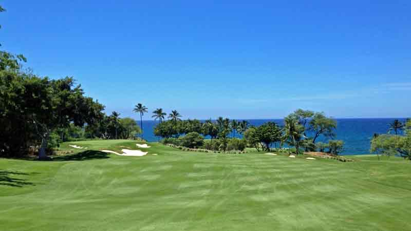 Mauna Kea Second Hole Hawaii Tee Times