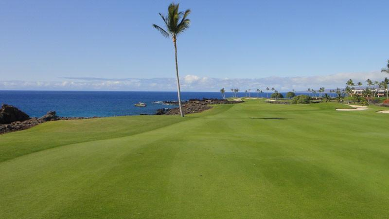 Mauna Lani South 13th fairway