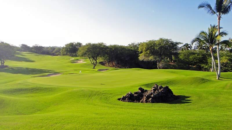 Mauna Lani North 4th hole