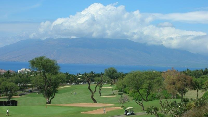 Wailea Old Blue with incredible ocean and mountain views