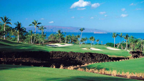 Wailea Gold Golf Course with amazing ocean and island views