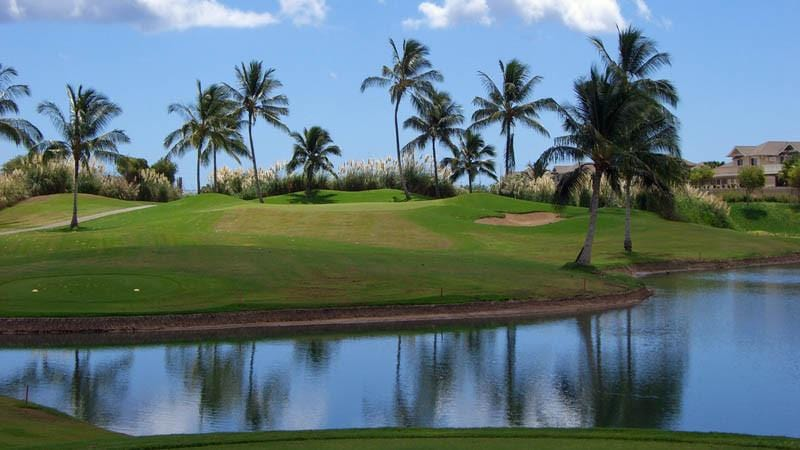 Kapolei Golf Course Lake