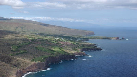 The Challenge at Manele Aerial