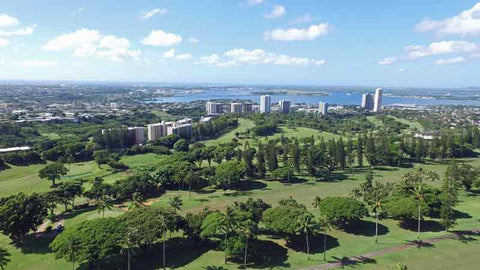Pearl Country Club Oahu Aerial views
