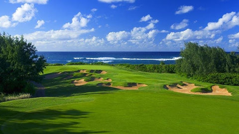 Turtle Bay Palmer signature 17th hole