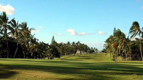 Pearl Golf Course 9th fairway and green