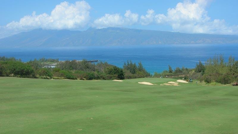Kapalua Plantation 12th fairway and green