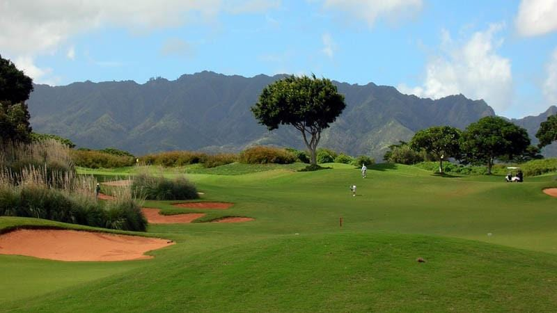 Royal Kunia Golf Course Views