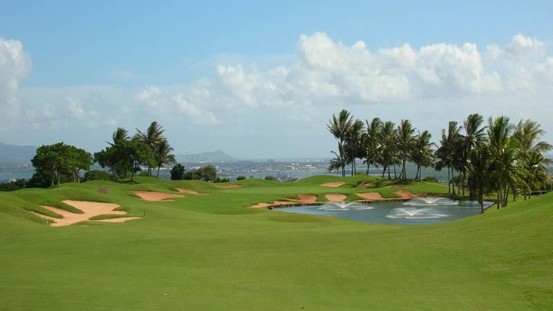 Royal Kunia Golf Club 9th green