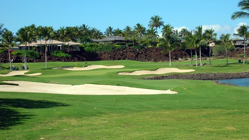 Mauna Lani North 15th fairway and green
