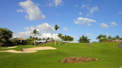 Greenside view at Mauna Lani North