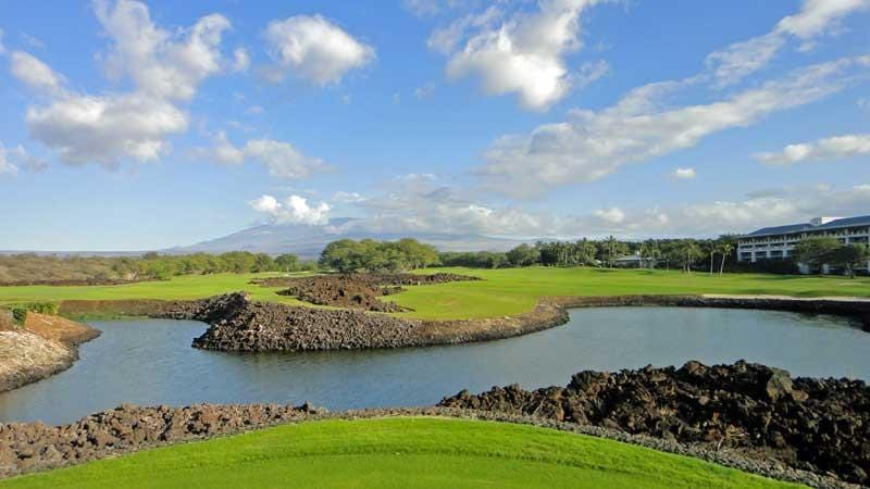 Tee View at Mauna Lani 10th hole in Beautiful Hawaii