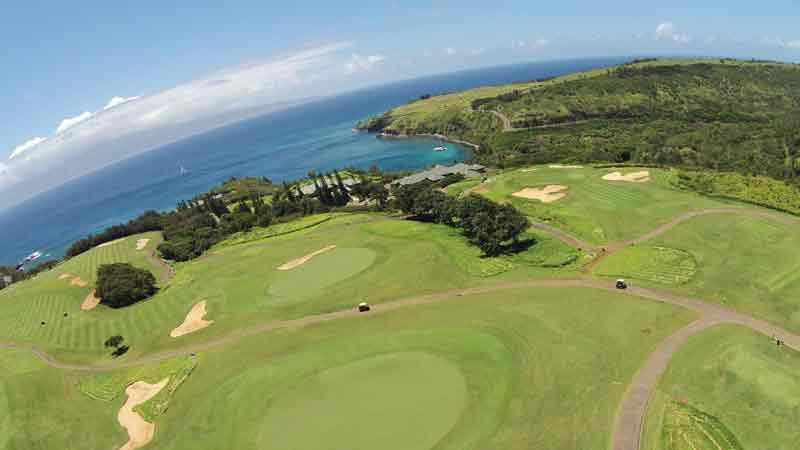 The back nine ocean views Kapalua Plantation
