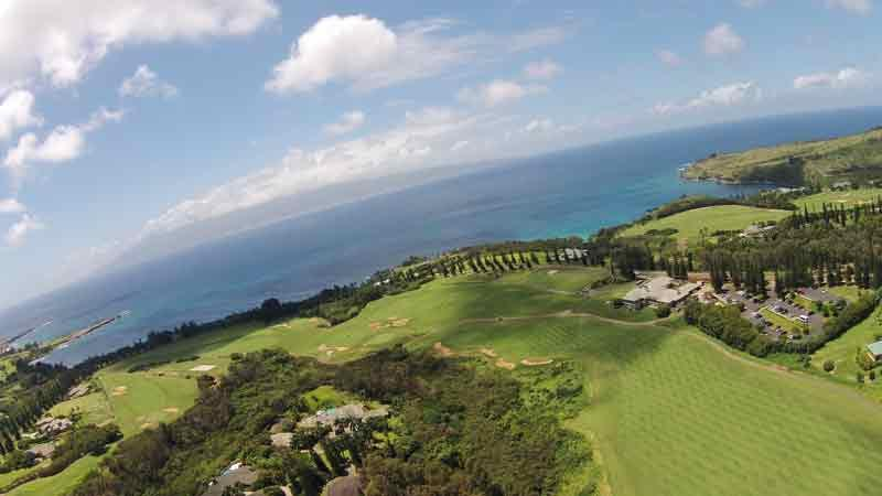 The famous 18th at Kapalua Plantation