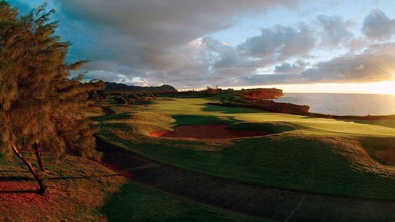 Poipu Bay Golf Sunset