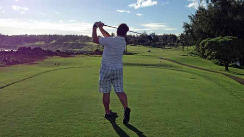 Poipu Bay Tee Shot on the 16 hole with Hawaii Tee Times