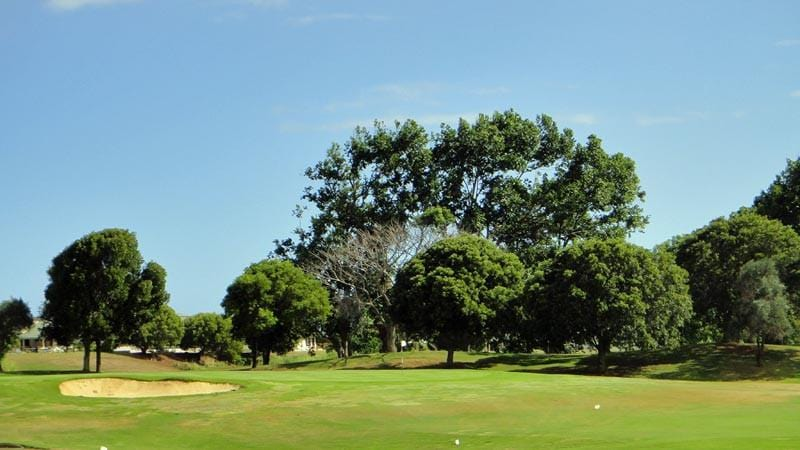 Puakea Golf Course Green