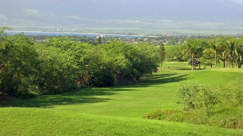Pukalani Golf Course with amazing views to West Maui Mountains