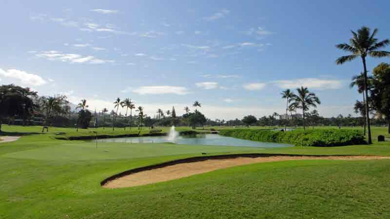 Kaanapali Royal 17th Green