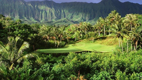 Royal Hawaiian Golf Club signature par 3 12th hole