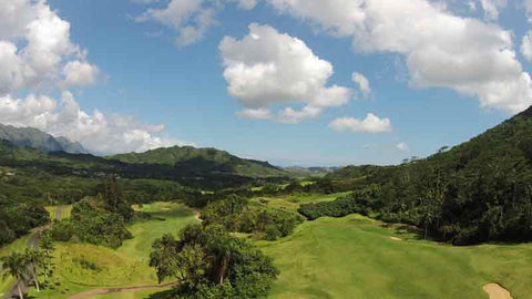 Royal Hawaii Golf Course drone views Hawaii Tee Times