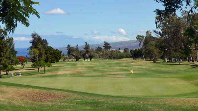 The lovely views from Waikoloa Village Golf Course in Hawaii