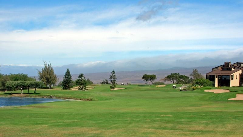 Waikoloa Village Golf front nine holes