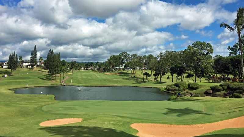 Waikele Country Club 17th hole
