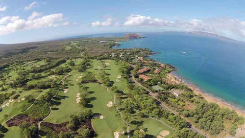 Wailea Gold Front Nine and Ocean Views