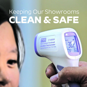 Keeping Our Showrooms Safe & Clean