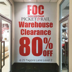 Warehouse Clearance - Up to 80% Off