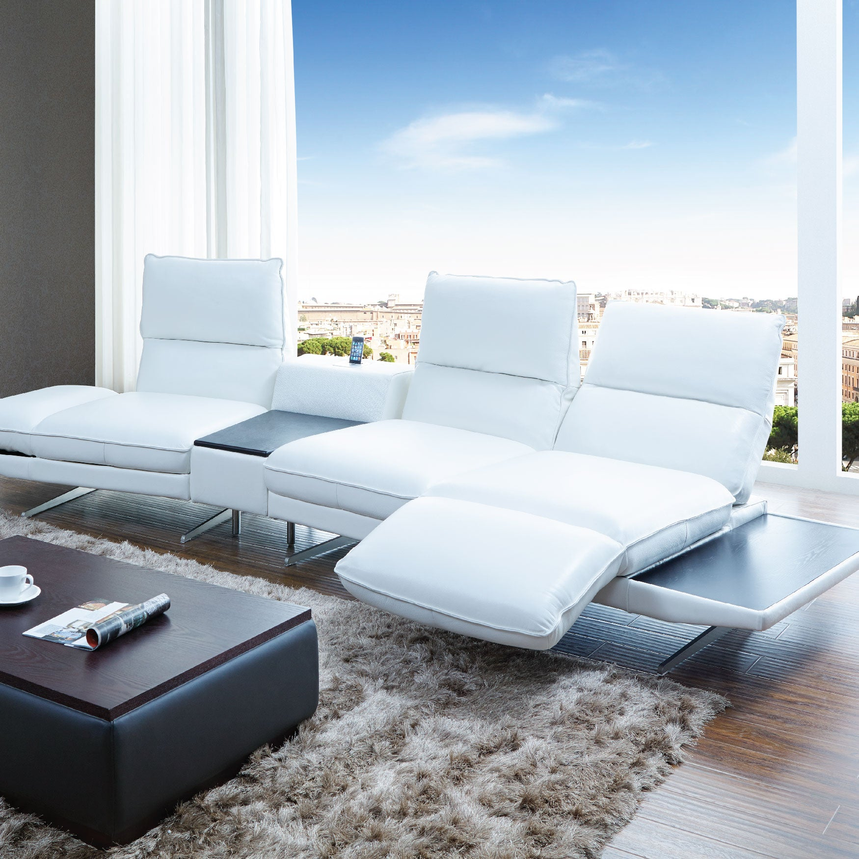 New And Unique Arrival: Our KUKA 1923 Leather Sofa