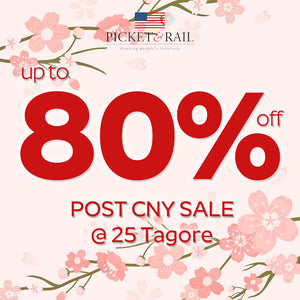 Post CNY Storewide Sale - Up to 80% Off @ 25 Tagore