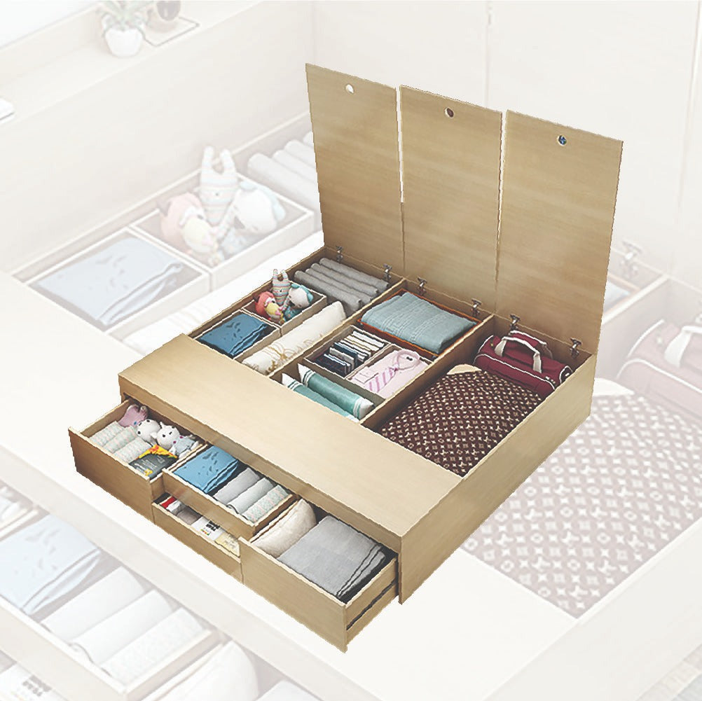 Custom Tatami Storage Beds