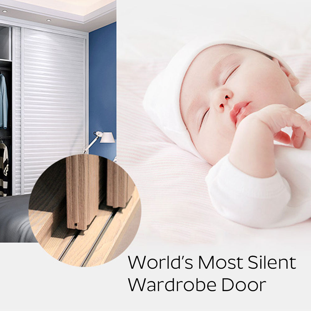 World's Most Silent Sliding Wardrobe Door