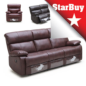 KUKA 2559 Leather Recliner - Now: $1899 | Usual: $4399