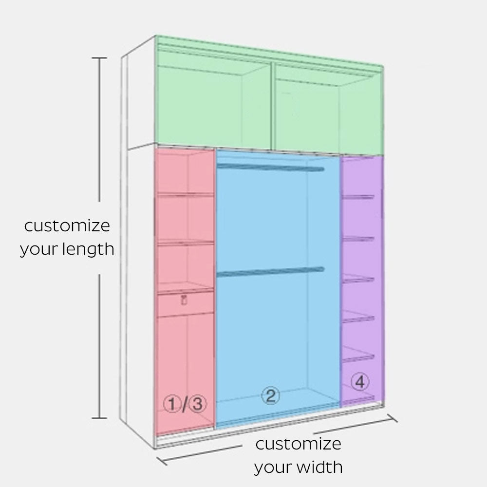 Customize Your Dimensions To Fit Any Room